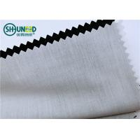 Quality Plain Pattern Garments Accessories Polyester / Cotton Pocketing Fabric Rolls for sale