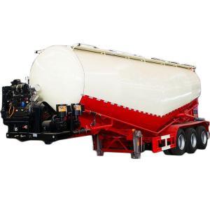 China Used Cement Bulk Semi Trailer 2 Alex 3 Alex Second hand 40m³ 50m³ Brand new Tanker truck on sale