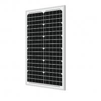 Buy cheap Monocrystalline Silicon Solar Panels 40 Watt 21.6V Circuit Voltage With Self - from wholesalers