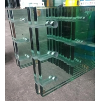 Quality Rough Edge Clear Tempered Glass 5mm 8mm 6mm 10mm 12mm Thickness for sale