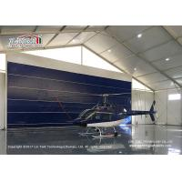 Quality High Reinforce  Aluminum Frame Aircraft Hangar Tent for Helicopter for sale