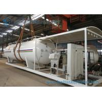 Quality 20M3 Liquid Petro LPG Tank Trailer , Small LPG Skid LPG Gate For Industrial for sale