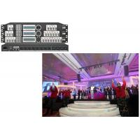 Quality Night Club Power Center Control Audio Video Processor 4 In 8 Out Mixer for sale