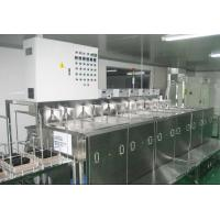 Buy cheap Optical Glass Ultrasonic Cleaning Machine Eleven Slot Fully Automatic PLC from wholesalers