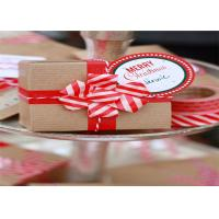 Quality Christmas Washi Masking Tape For Home Office Decoration / DIY Decor for sale