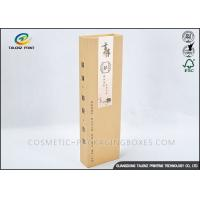 Quality 4C Printing Paper Wine Box Customized Size Delicate Design For Gift Packaging for sale
