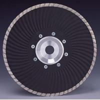 Quality Marble granite Cutting Turbo Wave Diamond cutting Blades with Flange for sale