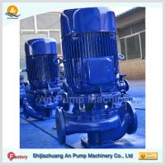 High pressure vertical pipeline booster pump