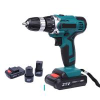 Quality Durable Power Tools Cordless Drill 21V / 12V / 18V Lithium Battery Operated for sale