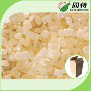 Quality Yellow Carton Sealing Closing Paper Hot Melt Pellets EVA Hot Melt Glue Adhesive  Nordson Hot Melt Adhesive for sale