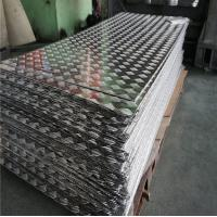 Quality Aircraft Aluminium Checker Plate Embossed Tread Sheet 1.0 - 5.0mm Thickness for sale