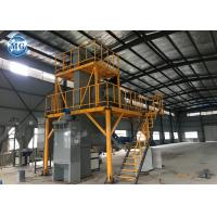 Buy cheap Industrial Semi Automatic Dry Mix Plant 8 - 10m3/H Capacity 24 Months Warranty from wholesalers