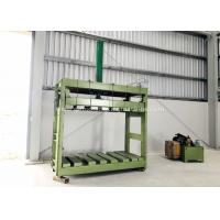 Quality Zinc Coated Reno Gabion Mesh Press Machine / Gabion Mattress With Automatic Oil System for sale