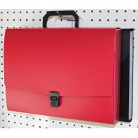 Buy cheap PP Expanding File Folders With Pockets Handle Decorative File Folder from wholesalers