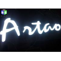 Quality Customised LED Channel Letter Signs / Lighted Business Signs Outdoor Water Resistant for sale