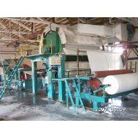 Quality Papermaking machine for making toilet paper, 787-1092 -1575type Toilet paper machine for sale