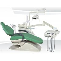Quality CE approved Luxury Dental Chair with 9 programs, Led Operating light, Movable Cabinet,Ceramic spittoon, for sale