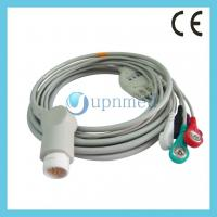 Quality M1986A Philips one piece ECG cable with leadwires 12pin for sale