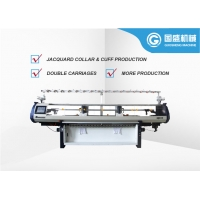 Quality Fully Jacquard Collar Computerized Flat Bed Knitting Machine for sale