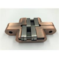 Quality High Performance Hidden Door Hinges Multiple Finishes Smooth Operation for sale