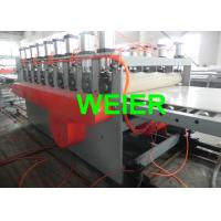 Quality 55KW / 75KW WPC Board Production Line For Construction Template for sale