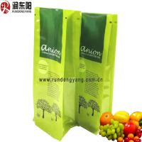 Quality Plastic Stand Up Zipper Pouch 50-250 Microns Thickness Customized Logo For Food Refresh for sale