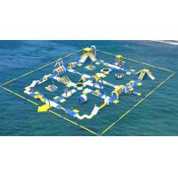 Buy cheap Giant Inflatable Water Toys Game / Inflatable Outdoor Water Theme Park from wholesalers