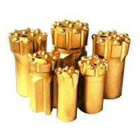 Quality Button bits T38-76 golden color drilling for marble and granite stone for sale