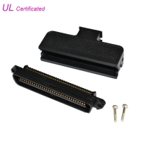 Quality RJ21 64 Pin Plug IDC Male Centronic Champ Connector With Straight Cable Entry for sale