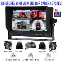 Quality 7 inch Truck Monitor with 4 CH CCTV Cameras and DVR Recording for sale