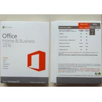 Quality PKC 1 Mac Software Key Code , Microsoft Office Home / Business 2016 for sale