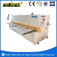 Quality automatic treadle metal shearing machine for sale