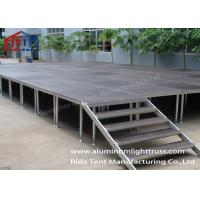 Buy cheap Adjustable Height Portable Collapsible Stage/ Performance Stage Plywood Board from wholesalers