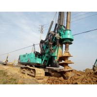 Buy cheap Durable Mobile Pile Driving Equipment Max Torque 80kNm KR80K Rotary Piling Rig Machine from wholesalers
