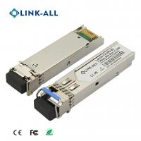 Quality 1.25G 1310NM/1490NM(1490NM/1310NM) Wavelength BIDI 40KM Transceiver With SC Connector for sale