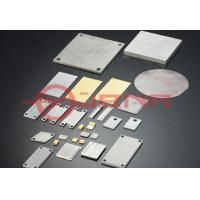 Buy cheap 85WCu Copper Tungsten Alloy , No Void Heat Spreader For Electronic Packaging from wholesalers