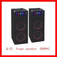 Quality Professional Stage Speaker With USB/SD/EQ/Karaoke (Q-25) for sale