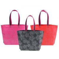 Quality Logo Printing Folding Pp Non Woven Fabric Bags Reusable Shopping Customized Size for sale