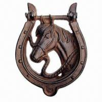 China Door Knocker, Cowboy Decoration, with Horse Design on sale