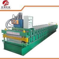 Quality Double Deck Corrugated Roofing Sheets Making Machines With Auto Run System for sale