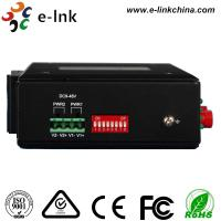 Quality Hardened 4Ch Industrial Fiber Media Converter RS232/RS422/RS485 With 2 SFP Fiber Port for sale