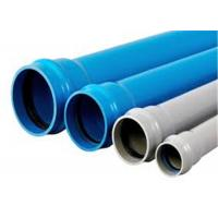 China Hygienic UPVC Drainage Pipe High Strength Glue Connection High Pressure Resistance on sale