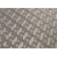 China E1 Grade, Embossed Aluminum Panel Faced MDF Board For  Decoration on sale