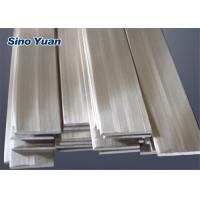 China Low Magnetic Permeability Stainless Steel Flat Rod , 304 Stainless Steel Flat Bar  Vexcellent Toughness on sale