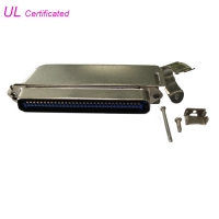 Quality Amphenol 90 Degree 64 Pin IDC Male Connector Champ Connector with Matel Cover for sale