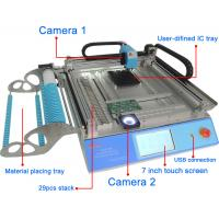 Quality CHMT 48V Benchtop SMT Pick And Place Machine SMT Assembly Equipment Vision + Mark 2 for sale