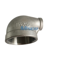 Quality 304 NPTF 90 Degree Reducing Elbow AP Surface For Gas Pipe for sale