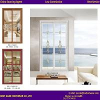 Quality china supplier interior frosted glass aluminum sliding doors for bathrooms for sale