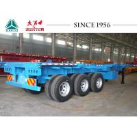 Quality 20/40/45 FT Container Transport Trailer Superior Carrying Capacity With BPW Axles for sale