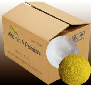 Quality Feed Grade Vitamins 1,700,000IUG Vitamin A Palmitate Powder With Va Content CAS 79-81-2 SV-AP1700K for sale